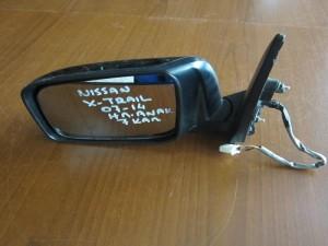 Nissan X-Trail 2008-2013 ηλεκτρικός ανακλινόμενος καθρέφτης αριστερός μαύρος (7 καλώδια)