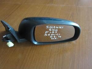 Suzuki sx-4 2007-2013 ηλεκτρικός καθρέφτης δεξιός πράσινος