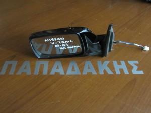 Nissan x-trail 2001-2007 ηλεκτρικός ανακλινόμενος καθρέφτης αριστερός μαύρος