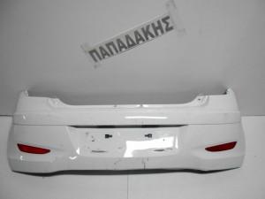Hyundai I10 2011-2014 προφυλακτήρας οπίσθιος Κορεάτικος λευκός