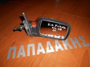 KIA Picanto 2004-2007 καθρέπτης δεξιός μηχανικός καφέ ανοιχτό