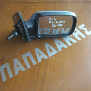 KIA Picanto 2004-2007 καθρέπτης δεξιός μηχανικός μπλε ανοιχτό
