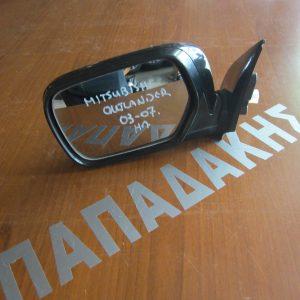 Mitsubishi Outlander 2003-2007 καθρέπτης αριστερός ηλεκτρικός μαύρος