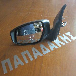 Nissan Pulsar 2015-2017 καθρέπτης αριστερός ηλεκτρικός γκρι