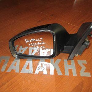 Renault Megane 2008-2016  Η/Β-S.W καθρέπτης αριστερός ηλεκτρικός 9 ακίδες μαύρος