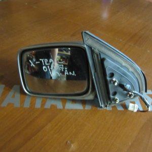 Nissan X-Trail 2001-2007  καθρέπτης αριστερός ηλεκτρικός ανακλινόμενος ασημί
