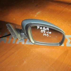 Skoda Fabia 2007-2010 καθρέπτης δεξιός ηλεκτρικός ασημί