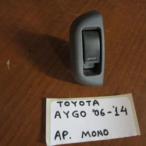 Toyota Aygo 2006-2012 (2012-2014) διακόπτης παραθύρων ηλεκτρικός εμπρός αριστερός μονός