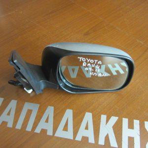 Toyota Rav-4 2009-2013 καθρέπτης δεξιός ηλεκτρικός ανακλινόμενος ασημί