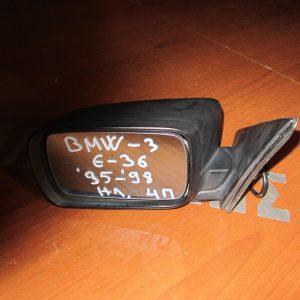 BMW Series 3 E36 1995-1998,Compact 1995-2000 καθρέπτης αριστερός ηλεκτρικός άβαφος