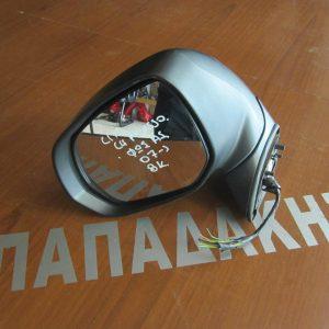 Citroen C4 Picasso 2007-2013 καθρέπτης αριστερός 8 καλώδια φως ασφαλείας γκρί