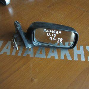 Nissan Almera N15 1996-1998  καθρέπτης δεξιός ηλεκτρικός άβαφος
