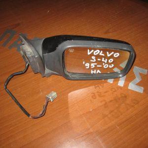 Volvo S40 1995-2000 (2000-2005) καθρέπτης δεξιός ηλεκτρικός μαύρος