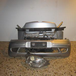 Μετωπη-μουρη κομπλε Mercedes Vaneo 2002-2005 W414 ασημι (καπο-μετωπη-ψυγεια-φαναρι δεξι-προφυλαχτηρας-τραβερσα προφυλαχτηρα-μασκα)