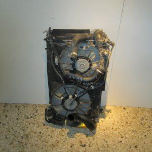 Toyota Rav-4 2006-2014 Diesel σετ ψυγεια (ψυγειο νερου-ψυγειο intercooler-βεντιλατερ)