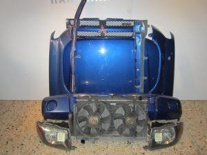 MITSUBISHI PAJERO PININ 2 ΘΥΡΟ 1999-2007μετώπη-μούρη εμπρός μπλε (ΚΑΠΟ-ΠΡΟΦΥΛΑΧΤΗΡΑΣ-2ΦΤΕΡΑ-2ΦΑΝΑΡΙΑ-ΨΥΓΕΙΑ ΚΟΜΠΛΕ-ΤΡΑΒΕΡΣΕΣ
