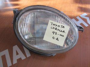 Φανάρι εμπρός δεξιό Toyota Corolla 1997-2000