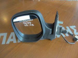 Citroen Berlingo,Peugeot Partner 1996-2008 καθρέπτης αριστερός μηχανικός ασημί