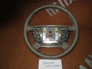 Jaguar XJ 2003-2007 βολάν τιμονιού χειριστήριο καφε