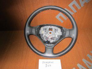 Peugeot 207 2006-2010 βολάν τιμονιού