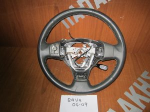Toyota Rav 4 βολάν τιμονιού δέρμα 2006-2009 χειριστήριο