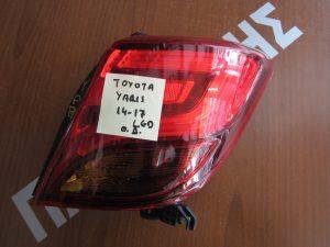 Toyota Yaris 2014-2017 φανάρι πίσω δεξί LED