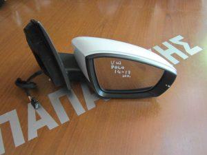 VW Polo 2014-2017 καθρέπτης δεξιός ηλεκτρικός μαύρο φις άσπρος