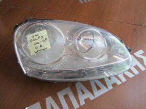 VW Golf 5 2004-2008 φανάρι εμπρός δεξί χρώμιο καθρέπτη