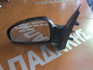 Daewoo Kalos 2002-2005/Chevrolet Aveo 2005-2008 καθρέπτης αριστερός ηλεκτρικός μαύρος