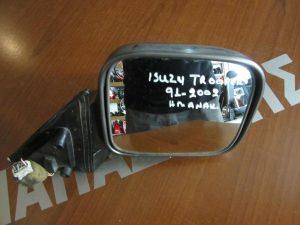 Isuzu Trooper 1991-2002 καθρέπτης δεξιός ηλεκτρικά ανακλινόμενος ασημί σκούρο