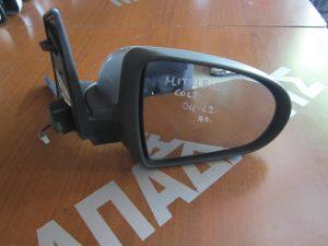 Mitsubishi Colt 2004-2012 καθρέπτης δεξιός ηλεκτρικός ασημί