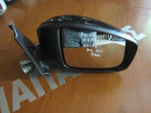 Renault Espace 2010-2014 καθρέπτης δεξιός ηλεκτρικά ανακλινόμενος μαύρος