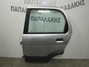 Daihatsu Terios 1997-2001 πόρτα πίσω αριστερή ασημί