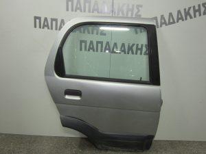 Daihatsu Terios 1997-2001 πόρτα πίσω δεξιά ασημί
