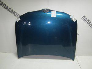 Nissan Almera N16 2000-2006 καπό εμπρος μπλε