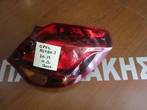 Opel Astra J 2010-2015 φανάρι πίσω δεξιό φιμέ