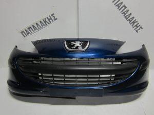 Peugeot 207 2006-2010 εμπρός προφυλακτήρας μπλε
