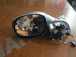 Citroen C3 2002-2009 αριστερός ηλεκτρικά ανακλινόμενος καθρέπτης ασημί