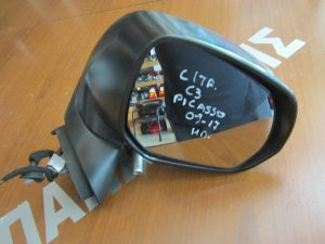 Citroen C3 Picasso 2009-2017 δεξιός ηλεκτρικός καθρέπτης άσπρος