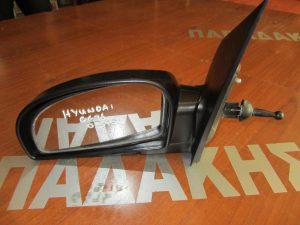Hyundai Getz 2002-2010 αριστερός μηχανικός καθρέπτης άβαφος