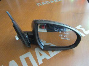 Hyundai Tucson 2015-2017 δεξιός ηλεκτρικά ανακλινόμενος καθρέπτης μαύρος