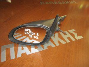Opel Vectra B 1995-2002 αριστερός μηχανικός καθρέπτης ασημί