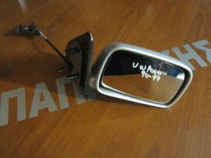 VW Polo 1994-1999 δεξιός μηχανικός καθρέπτης ασημί