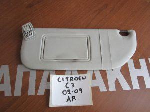 Citroen C3 2002-2009 αλεξήλιο αριστερό