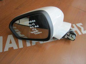 Ford Mondeo 2014-2017 καθρέπτης αριστερός ηλεκτρικά ανακλινόμενος άσπρος 15 καλώδια υδραργιρικό τζάμι