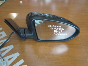 Nissan Qashqai 2006-2013 καθρέπτης δεξιός ηλεκτρικά ανακλινόμενος μαύρος κάμερα