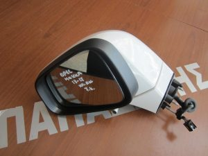 Opel Mokka 2013-2017 καθρέπτης αριστερός ηλεκτρικά ανακλινόμενος άσπρος 7 καλώδια