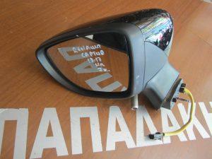 Renault Captur 2013-2017 καθρέπτης αριστερός ηλεκτρικός μαύρος 7 καλώδια