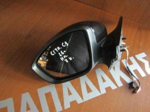 Citroen C3 2016-> καθρέπτης αριστερός ηλεκτρικός μαύρος