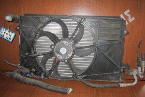 Seat Leon 2005-2012 σετ ψυγείων 1.4 βενζίνα (ψυγείο νερού- ψυγείο A/C- βεντιλατέρ)